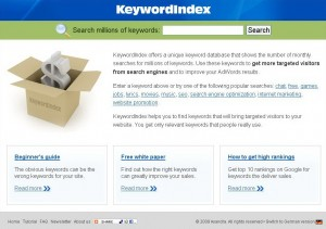 KeywordIndex